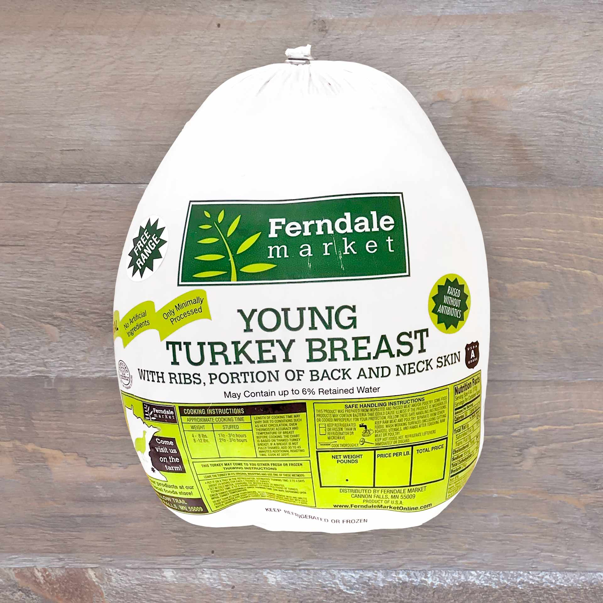 Bone-in Turkey Breast | Ferndale Market