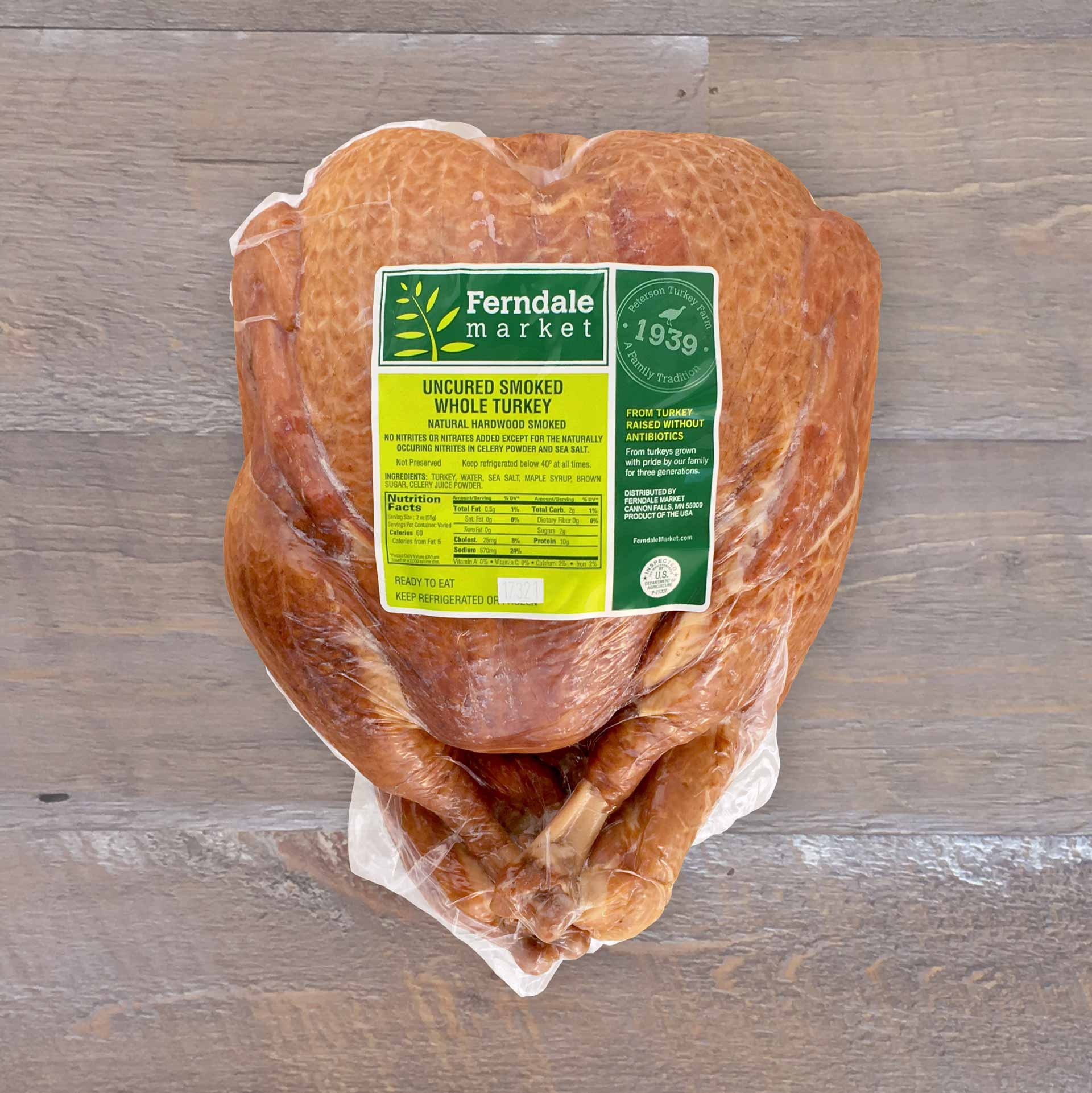 Smoked Whole Turkey | Ferndale Market