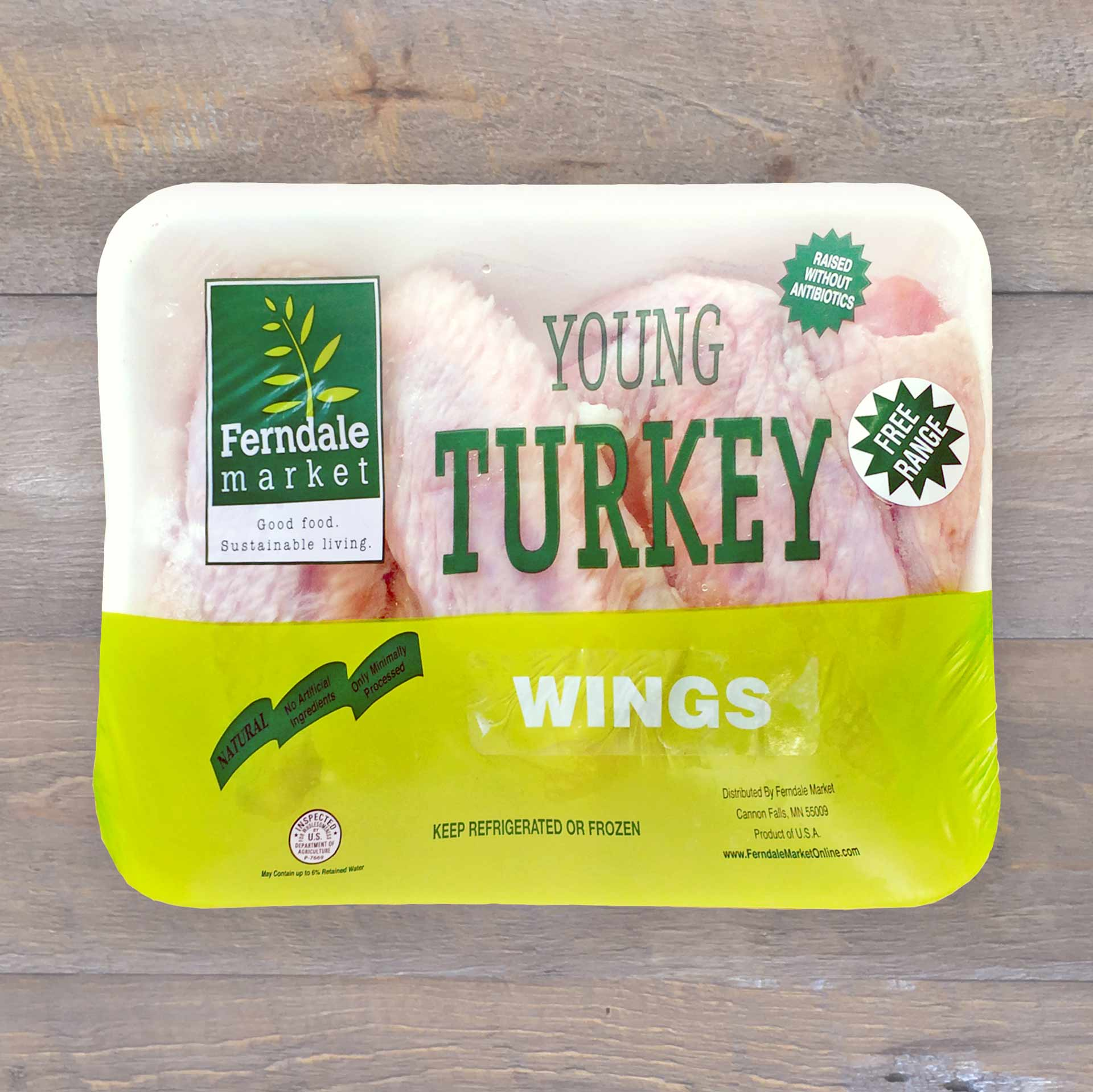 Turkey Wings Traypack | Ferndale Market