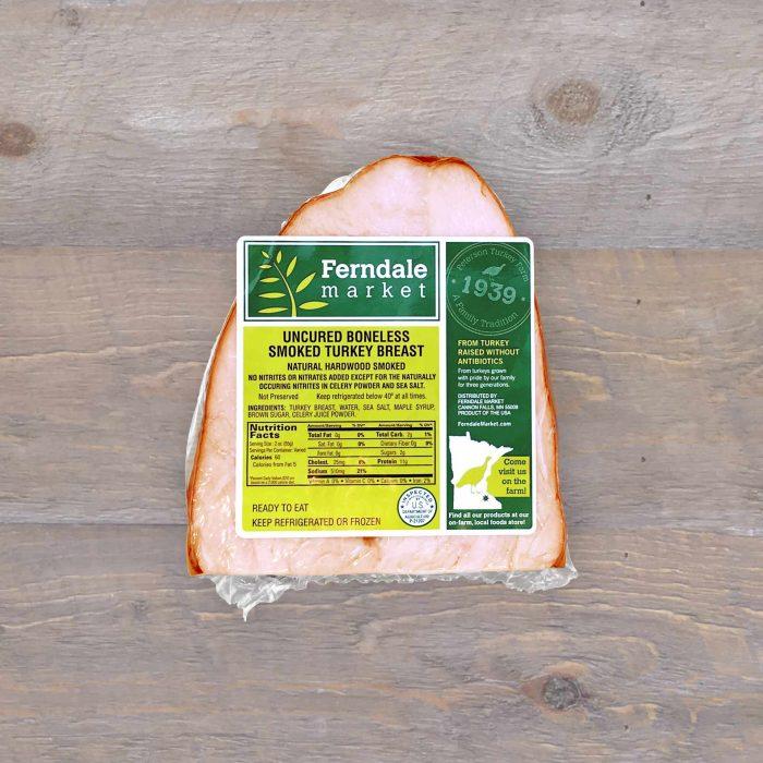 Uncured Boneless Smoked Turkey Breast | Ferndale Market