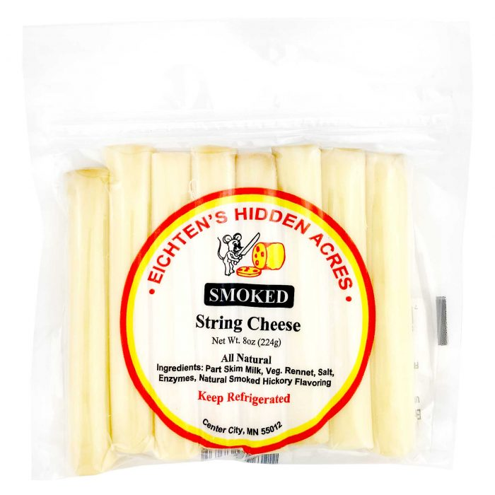 Eichtens Hidden Acres Smoked String Cheese