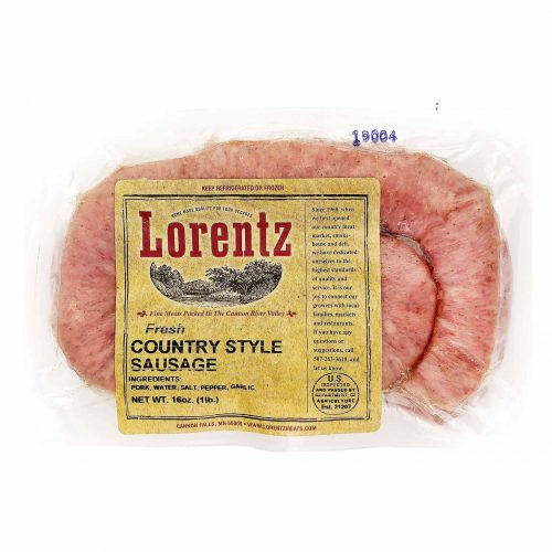 Lorentz FreshCountryStyleSausage 1920x1920