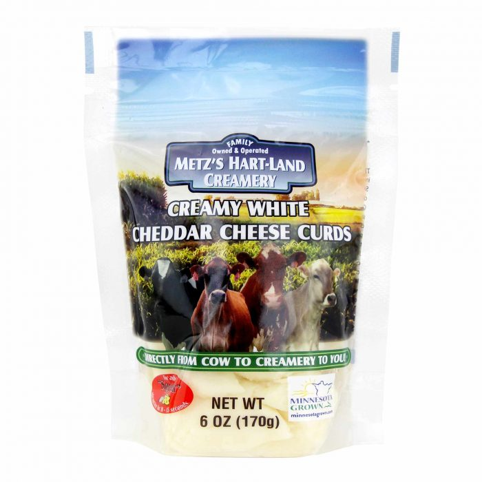 Metzs Hart Land Creamery White Cheddar Cheese Curds