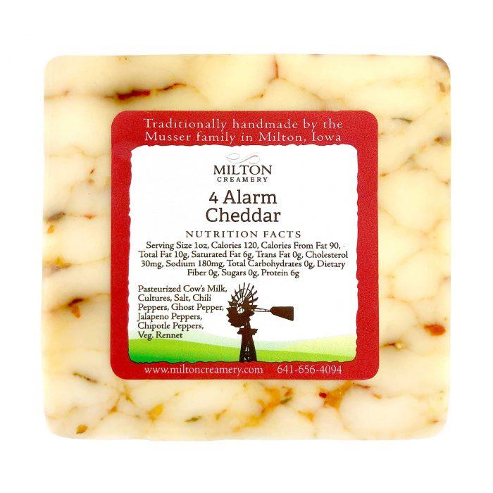Milton Creamery 4 Alarm Cheddar