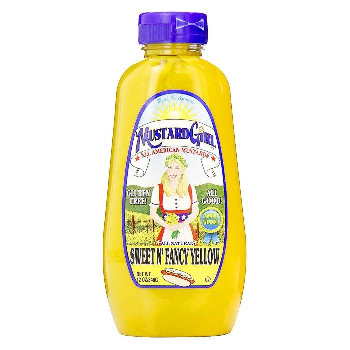 Mustard Girl Sweet N Fancy Yellow Mustard