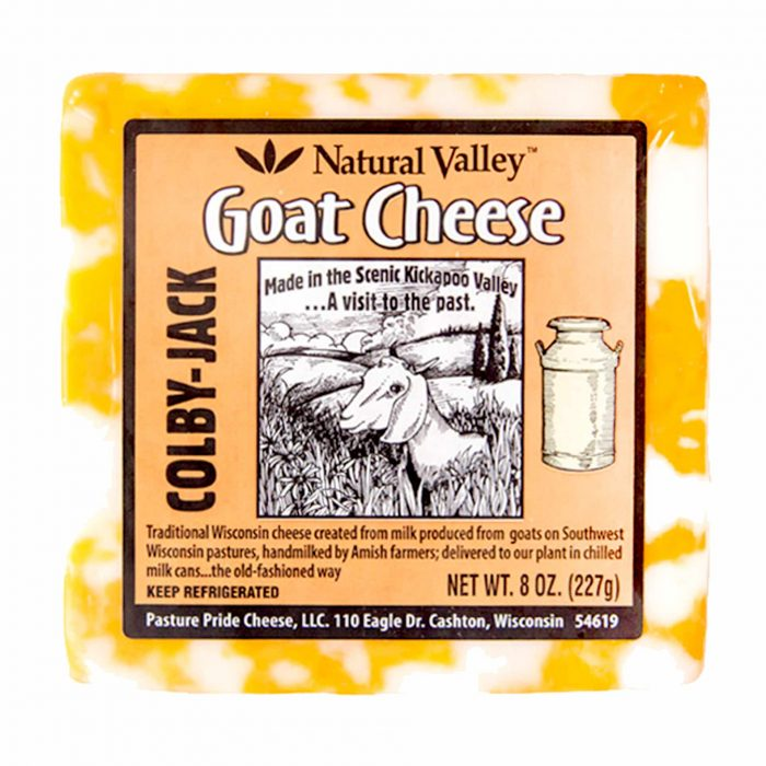 Natural Valley Goat Cheese Colby Jack