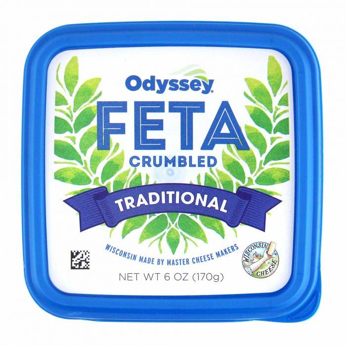 Odyssey Crumbled Feta Cheese