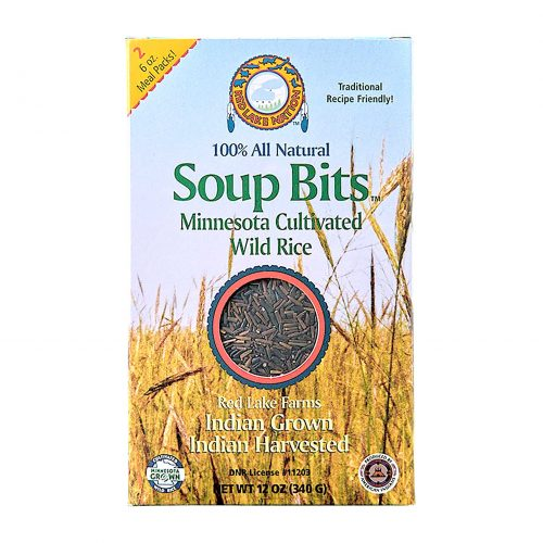 Red Lake Nation Soup Bits Wild Rice