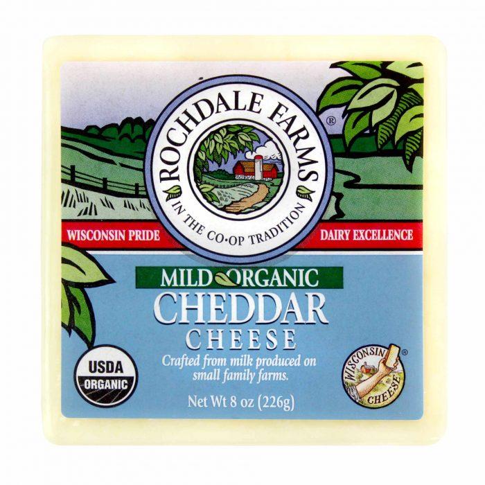 Rochdale Farms Organic Mild Cheddar Cheese