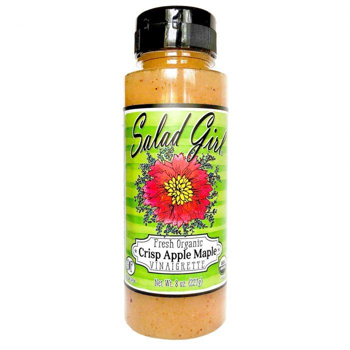 Salad Girl Crisp Apple Maple Dresssing