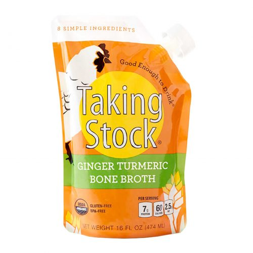 Taking Stock Ginger Turmeric Bone Broth