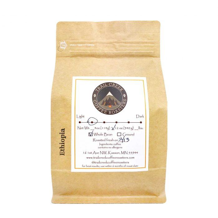 Trail Creek Coffee Roaster Ethiopia Coffee Beans
