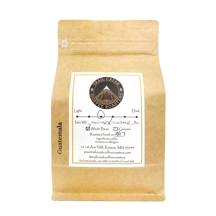 Trail Creek Coffee Roasters Guatemala Coffee Beans