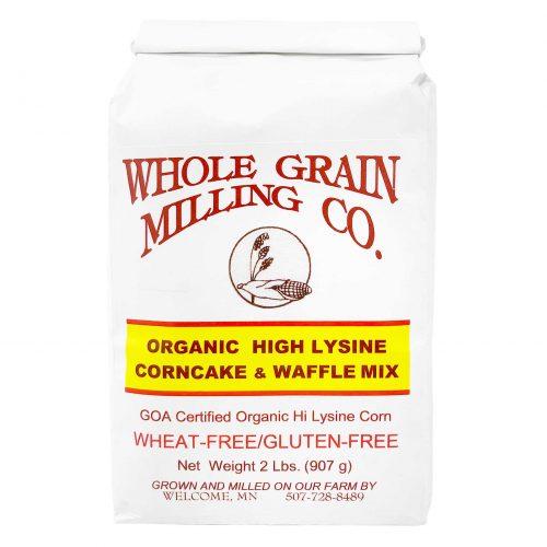 WholeGrainMilling HighLysineCorncakeWaffleMix 1920x1920