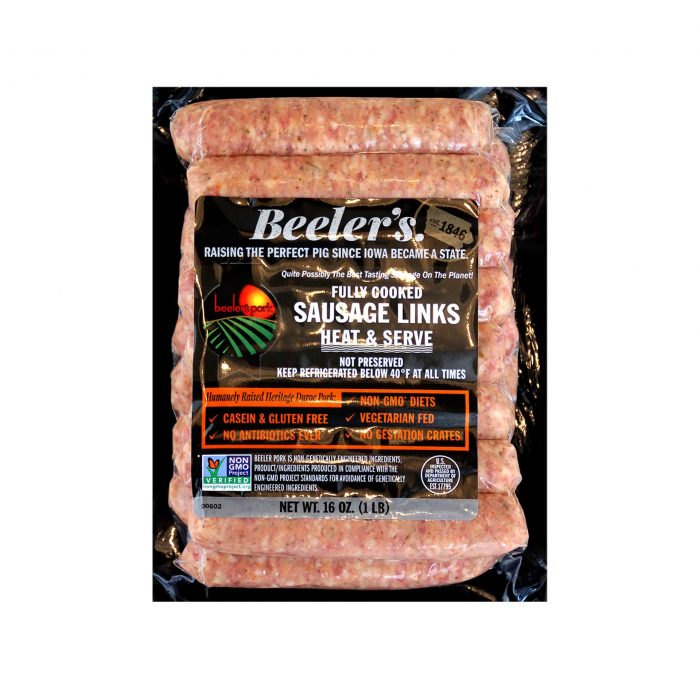 Beelers Breakfast Sausage Links