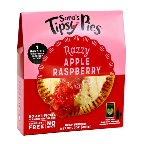Saras Tipsy Pies Razzy Apple Raspberry Pie