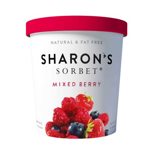 Sharons Sorbet Mixed Berry Ice Cream