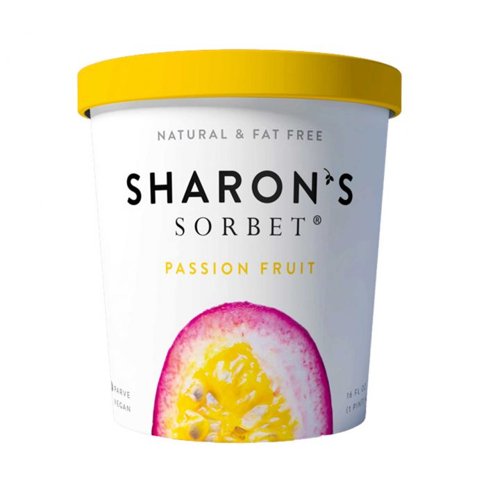 Sharons Sorbet Passion Fruit Ice Cream