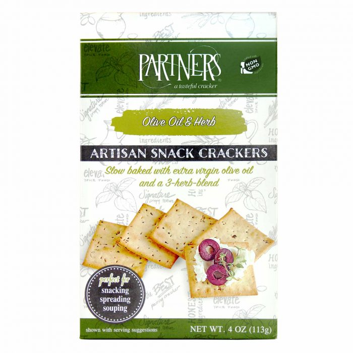 Partners Olive Oil And Herb Crackers