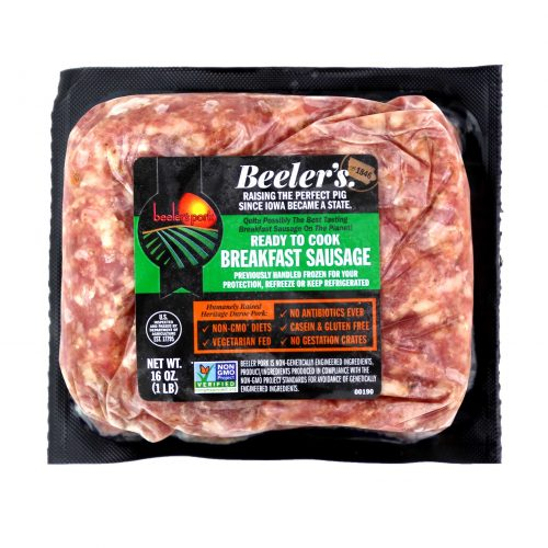 Beelers Breakfast Sausage Chub