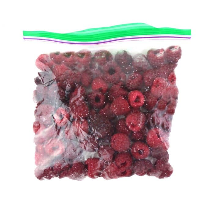 Lorence Frozen Raspberries Half Pint