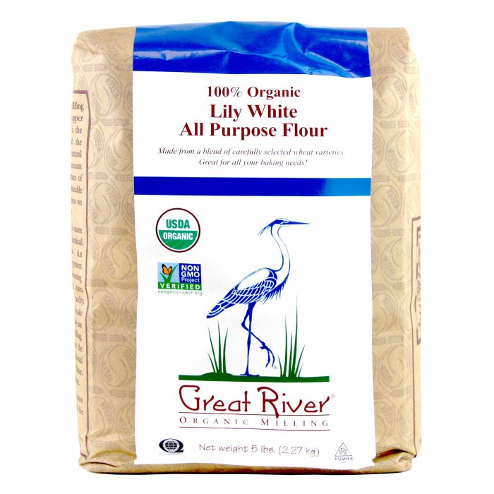 Great River Organic Milling Lily White All Purpose Flour