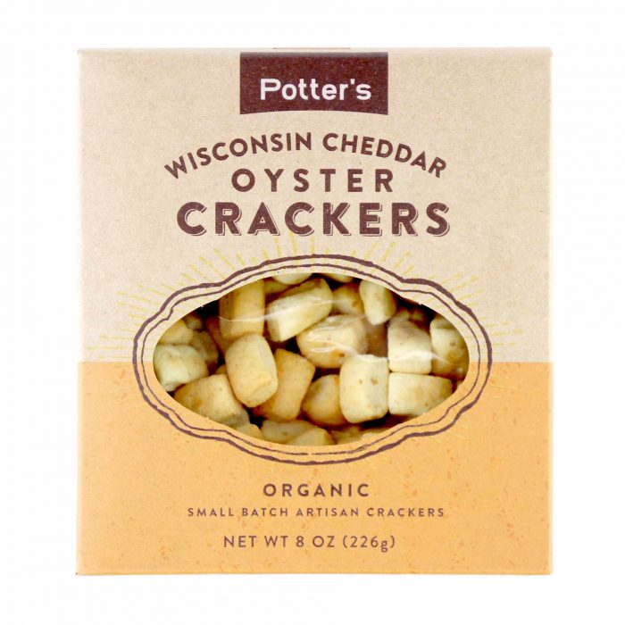 Potters Wisconsin Cheddar Oyster Crackers