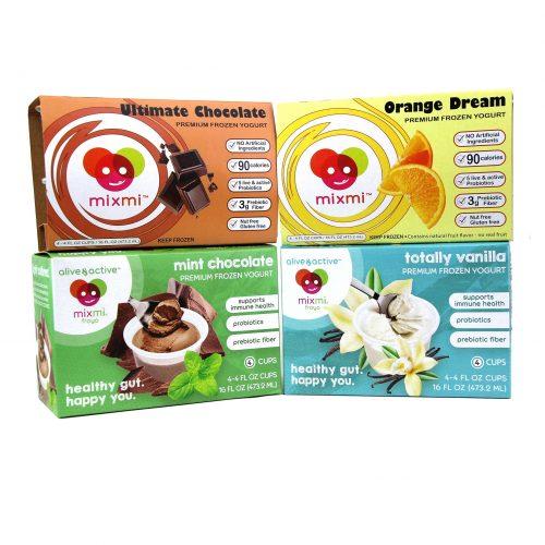 AliveActive Mixmi Froyo Frozen Yogurt Varieties