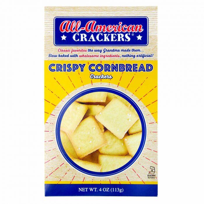 All American Crispy Cornbread Crackers