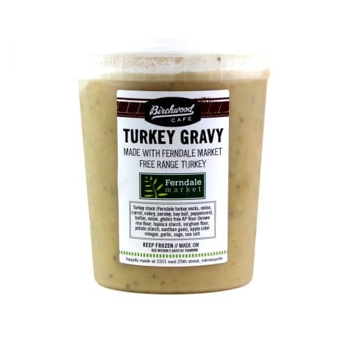 Birchwood Cafe Turkey Gravy