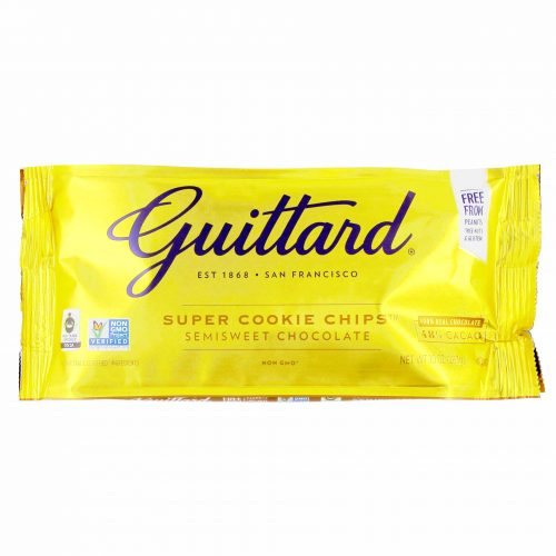 Guittard Super Cookie Chips Semisweet Chocolate