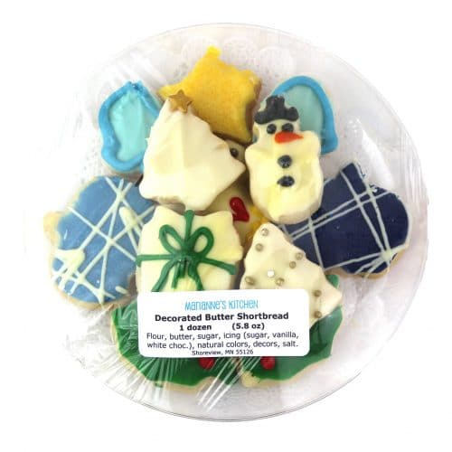 Mariannes Kitchen Decorated Butter Shortbread Cookies