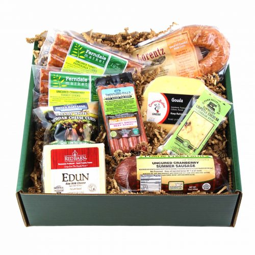 Meat and Cheese Gift Box