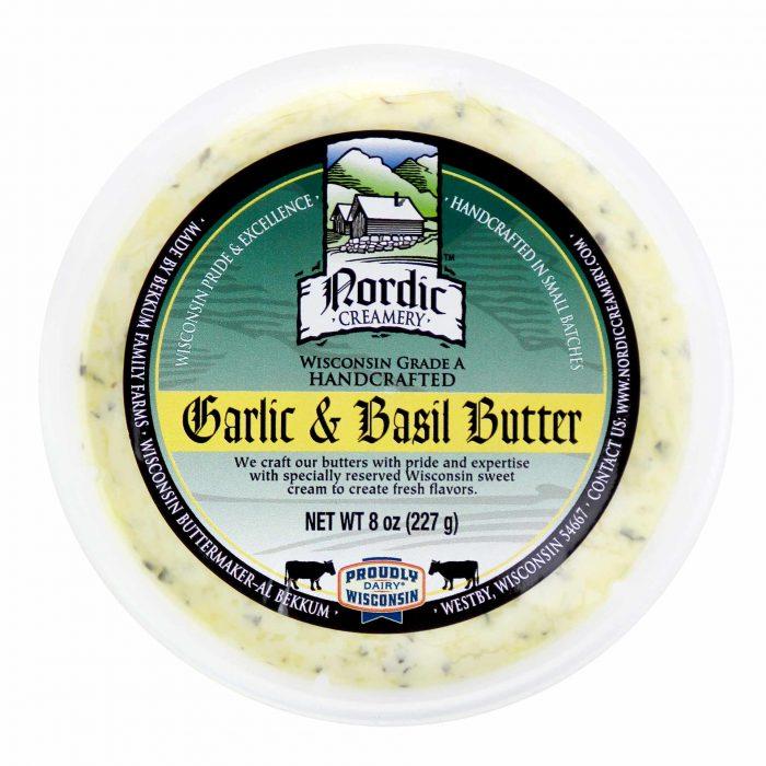 Nordic Creamery Garlic Basil Butter