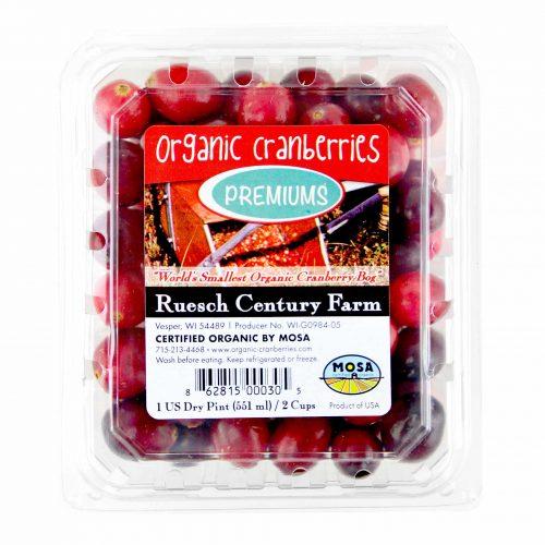 Ruesch Century Farm Organic Cranberries
