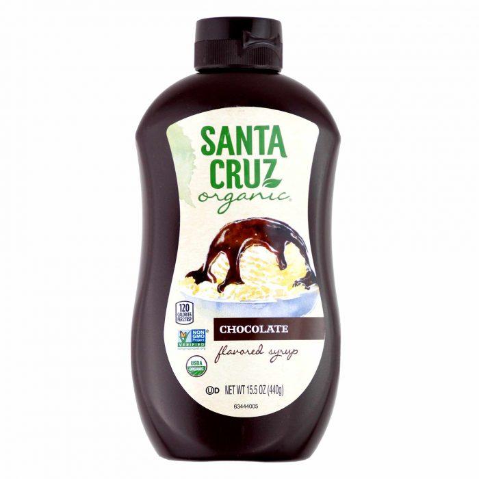 Santa Cruz Organic Chocolate Flavored Syrup