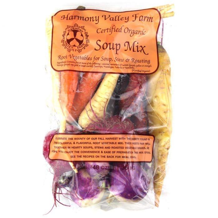 Harmony Valley Farm Organic Soup Mix Vegetables