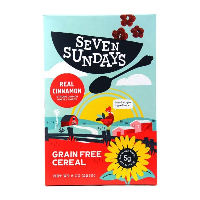 Seven Sundays Real Cinnamon Breakfast Cereal