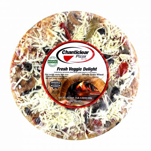 Chanticlear Fresh Veggie Delight Pizza