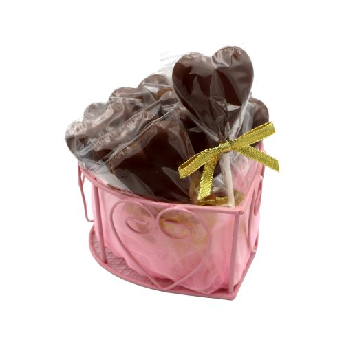 Costa Heart Chocolate Lollipop