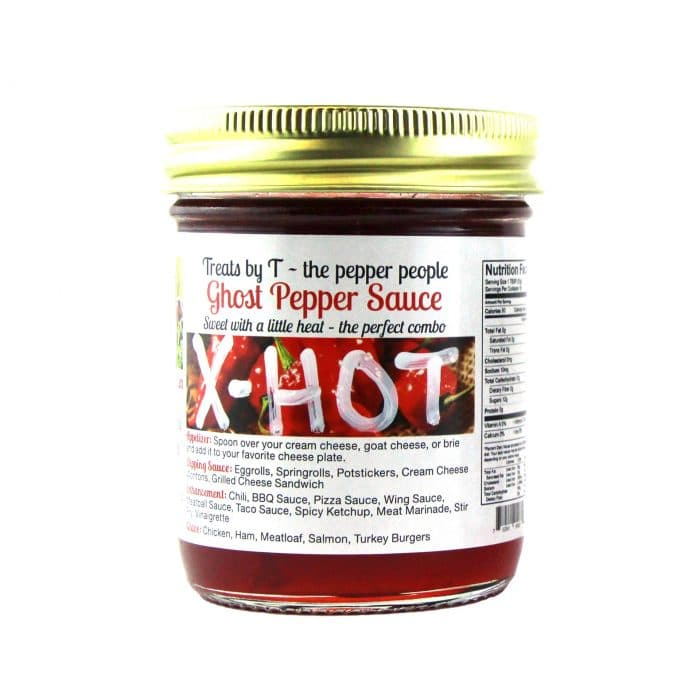 Treats By T Ghost Pepper Sauce X Hot