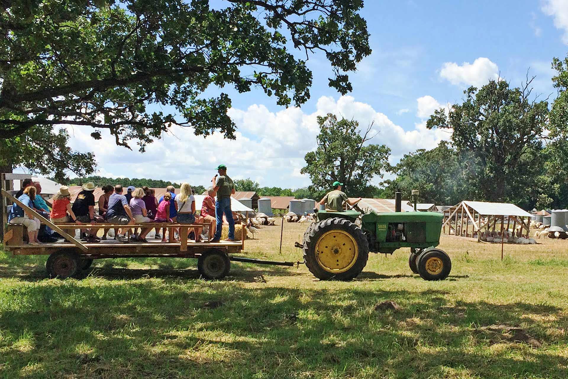 Farm Tour Hayride Event - Ferndale Market